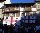 Bandera del Bolton Wanderers F.C.