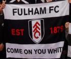 Bandera del Fulham F.C.