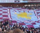 Bandera del Aston Villa F.C.