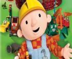 Bob el Constructor con sus máquinas