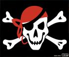 Bandera pirata Jolly Roger