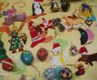 Adornos variados de Navidad