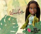 Sasha: - Bunny Boo - es la primera afroamericana Bratz. Su segundo nombre es Edith, es el narcisismo, pero eso es normal (para ella).