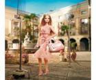 Barbie actriz rodando un anuncio