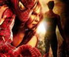 Spiderman junto a Mary Jane