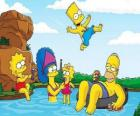La família Simpson un domingo de verano