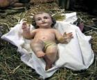 El Niño Jesús en el pesebre