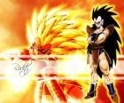 Raditz, es un Saiyajin, el hermano mayor de Son Goku que consiguió sobrevivir a la destrucción del planeta Vegeta