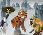 Grulla, Tigresa, Mono y Mantis