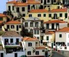 Casas tipicas del pueblo de Câmara de Lobos - Madeira - (Portugal)
