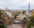 Vista de Barcelona desde la terraza del Parque Güell