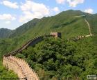 La Gran Muralla China, antigua fortificación para proteger la frontera norte del imperio Chino
