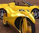 Coche y moto Ferrari