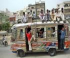Autobus, de Karachi