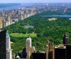 Vista aérea del Central Park, New York
