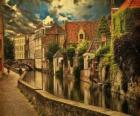 Centro histórico ciudad de Brujas, Bélgica