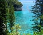 Arrecifes y ecosistemas, del archipiélago francés de Nueva Caledonia, situado en el Océano Pacífico.