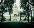 Palacio Real de Exposiciones y Jardines Carlton, diseñados por el arquitecto Joseph Reed. Australia