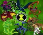 Las 10 personalidades alienígenas originales de Ben 10