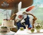 El Conejo Blanco siempre con prisas