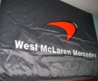 Bandera de McLaren F1