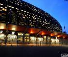 Soccer City de noche
