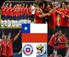 Selección de Chile, Grupo H, Sudáfrica 2010