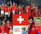 Selección de Suiza, Grupo H, Sudáfrica 2010