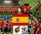 Selección de España, Grupo H, Sudáfrica 2010