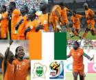 Selección de Costa de Marfil, Grupo G, Sudáfrica 2010