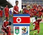 Selección de Corea del Norte, Grupo G, Sudáfrica 2010
