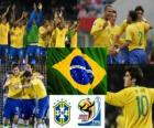 Selección de Brasil, Grupo G, Sudáfrica 2010