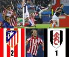 Europa League Final 2009-10, Atletico de Madrid 2 - Fulham FC 1