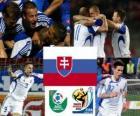 Selección de Eslovaquia, Grupo F, Sudáfrica 2010
