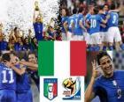 Selección de Italia, Grupo F, Sudáfrica 2010