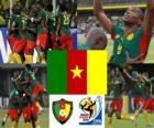 Selección de Camerún, Grupo E, Sudáfrica 2010