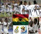 Selección de Ghana, Grupo D, Sudáfrica 2010