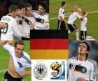 Selección de Alemania, Grupo D, Sudáfrica 2010