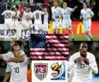 Selección de USA, Grupo C, Sudáfrica 2010