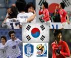 Selección de Corea del Sur, Grupo B, Sudáfrica 2010
