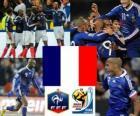 Selección de Francia, Grupo A, Sudáfrica 2010