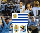 Selección de Uruguay, Grupo A, Sudáfrica 2010