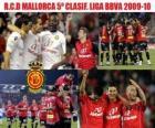 R.C.D Mallorca 5º Clasificado Liga BBVA 2009-2010