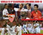 Sevilla F.C 4º Clasificado Liga BBVA 2009-2010