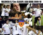 Valencia C.F 3er. Clasificado Liga BBVA 2009-2010