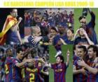 F.C Barcelona Campeón Liga BBVA 2009-2010