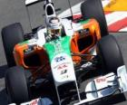 Adrian Sutil - Force India - Monte-Carlo 2010