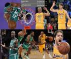 Final NBA 2009-10, 1er Partido, Boston Celtics 89 - Los Angeles Lakers 102