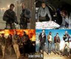 Equipo A, Los Magníficos o Brigada A, la película narra las aventuras de un comando de élite del ejército estadounidense destinado en Irak