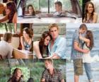 Varias imagenes de Miley Cyrus y Liam Hemsworth en su ultima pelicula, La última canción.